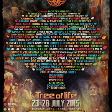 tree of life gathering 2015 festival flyer